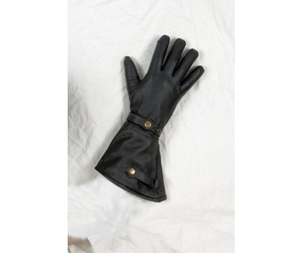 Naked Cowhide Long Summer Glove w/ Velcro Strap and Lining